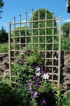 Dura-Trel Winchester Trellis:  Going to train my climbing rose up this new trellis this year