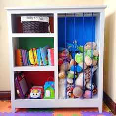 DIY Home Sweet Home: 30 Brilliant Toy Storage Hacks.