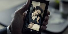 Nokia Lumia mobile phone in HOUSE OF CARDS: CHAPTER 15 (2014) @lumiaus