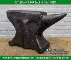 Ask for price with ID0877 on anvilsandtoolsforsale@gmail.com All pictures of all anvils on our website anvil for sale, anvils, blacksmith, blacksmiths, blacksmithing, antique tools, tool collector, swage block, stake, cone, cutler, french pig, amboss, incudine, schmied, forgeron, forge, enclume, forged, blacksmith tools, old tools, vintage tools, handtools, iron work, vise, stake, coutellier, chamouton, hulot harmel, collection, outil ancien, outils anciens, bigorne, art populaire, enclume