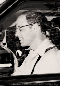 prince william....don't you think he looks good in glasses?!