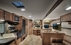 2015 Palomino SolAire Ultra Lite 267BHSK Living Area
