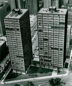 Ludwig Mies van der Rohe | 860–880 Lake Shore Drive | Chicago | 1949-1951