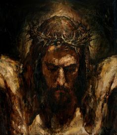 Christ on the Cross cm, oil on canvas, 2013 Anatoly Shumkin God and Jesus Christ Catholic Art, Religious Art, Image Jesus, La Pieta, Jesus Painting, The Cross Of Christ, Jesus Cross, Jesus Art, Biblical Art