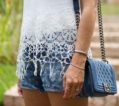 nati vozza blog nativozza glam4you blog look bynv nv calca short chanel jeans costume provador 20 Provador: Costume Verão Publi Provador Loo...