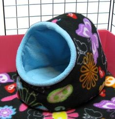 Plush Fleece Hut For Small Pets
