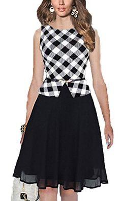 Elegant Women Plaid Striped Chiffon Dress Faux Twinset Slim Waist Dress with Belt Lady Party Midi Dress Vesdios Femininos Cheap Skater Dresses, Cute Dresses, Short Dresses, Belted Dress, Chiffon Dress, Stitching Dresses, Business Casual Dresses, Daily Dress, Dress Brands