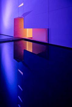The project is located in San Jose del Cabo, Baja California, Mexico, a very remote zone, almost an island. Club Design, 2020 Design, House Design, Neon Aesthetic, Aesthetic Rooms, San Jose Del Cabo, Architecture Graphics, Architecture Design, Light Art Installation