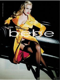 2007 Print AD for BEBE. It is a page AD for BEBE. Item picture is exact item you will receive. Rebecca Romijn, Shoes Ads, Print Magazine, Print Ads, Hosiery, Wonder Woman, Swimwear, Beauty, Inspired