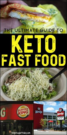 YES, you can eat fast food on keto! Eating fast food on the keto diet is totall. Best Keto Meals, Low Carb Dinner Recipes, Keto Dinner, Lunch Recipes, Keto Recipes, Healthy Recipes, Skinny Recipes, Keto Meal Plan, Diet Meal Plans