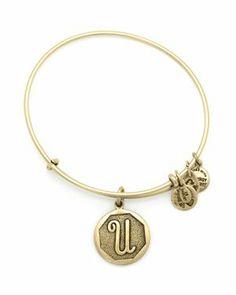 My Bestie Helen sent me this beautiful 'M' bracelet in the mail! Thx helcat! Love u!  letter bracelet