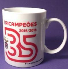 S.L. BENFICA Tricampeoes 35 Titles Official Licensed MUG Team Symbol 250ml 8.5oz | eBay