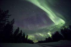 Rovaniemi -Aurora Borealis by Tarja Ryhannen Mitrovic