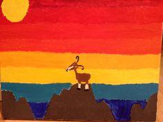 Cabra#paisajes#pinturas#animales