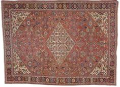 MAHAL CARPET,  Central Persia, Circa 1930,  Approximately 13ft. x 10ft. 2in. (396 x 310cm.) I Christie's Sale 1643