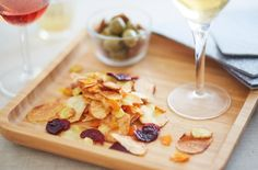 Be sure to impress your dinner guests with these baked vegetable crisps. Find this recipe and hundreds of other recipes at Tesco Real Food today! Lactose Free Recipes, Pureed Food Recipes, Snack Recipes, Vegetable Crisps, Vegetable Dishes, Low Gi Foods, Tesco Real Food, Clean Eating Challenge