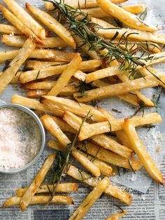 Matchstick rosemary potatoes | Donna Hay