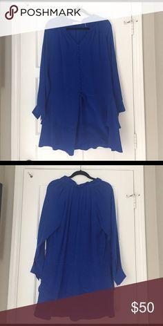 Rebecca taylor dress in cobalt blue Rebecca taylor dress in cobalt blue. Silk Rebecca Taylor Dresses Midi