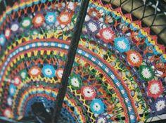 Gehaakte jasbeschermers | Berthi's Weblog