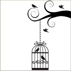 stencil birds - Pesquisa Google