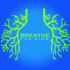 Just designed this cute fundraiser shirt for my sister. Let me know if anyone wants one. She has CF and needs a double lung transplant. Cystic Fibrosis awareness. Thanks