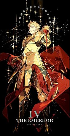 Gilgamesh Anime, King Gilgamesh, Fate Stay Night Series, Fate Stay Night Anime, Fantasy Characters, Anime Characters, Character Concept, Character Art, Fate Zero Kiritsugu
