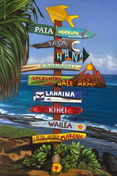 "Art By Edyta Franczak~""Always Great in Maui"""