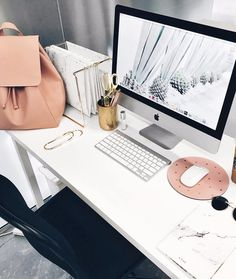 "2,709 Likes, 26 Comments - Well+Good (@iamwellandgood) on Instagram: ""Clean desk = clear mind? Learn 5 tips to finally get your work area organized once and for all—link…"""