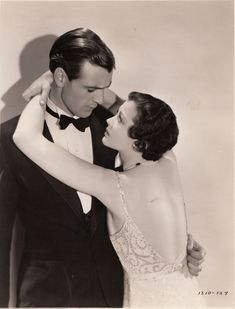 """Gary Cooper & Sylvia Sydney Publicity shot for """"City Streets"""" 1931 Old Hollywood Movies, Old Hollywood Stars, Hollywood Actor, Golden Age Of Hollywood, Classic Hollywood, Hollywood Icons, Gary Cooper, Marlene Dietrich, Classic Movie Stars"""