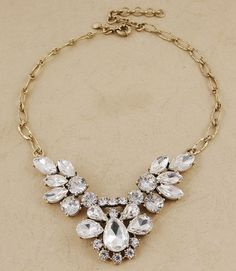 J.Crew style Summer Crystal Necklace $30
