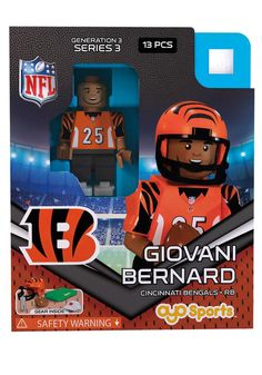 423683bd2 This Cincinnati Bengals Team Player Generation 3 Oyos is a unique addition  to your collection