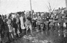 """Baron Carl Mannerheim salutes White Guardists, February Mannerheim led the victorious White forces in the Finnish Civil War. Finnish Civil War, Russian Revolution 1917, Helsinki, Warfare, Civilization, Finland, World War, Victorious, Red And White"