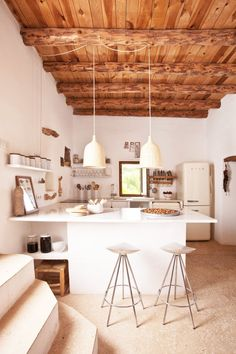 Inside a Rustic Ibiza Villa With Views for Days via @MyDomaine