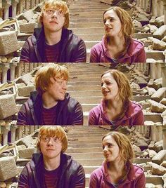 I'm all for Fremione, but I do like Ron and Hermione together. And gotta respect what's cannon.
