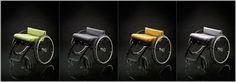 Nomad Wheelchair - fabric seat system (attic 2