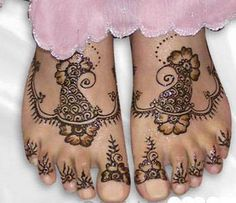 Feet Mehndi Designs-4