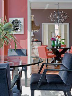 Ritz Carlton Penthouse –Elms Interior Design - Contemporary Breakfast Room