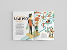 On Investing Magazine: Couples Print Design, My Design, Editorial Design, Art Direction, Investing, How To Get, Animation, Magazine, Couples