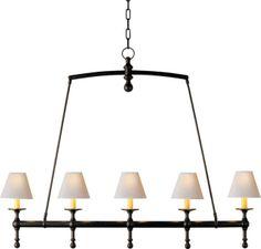 THE CLASSIC BILLIARD LIGHT LIGHTS UP A MANHATTAN KITCHEN RENOVATION PROJECT