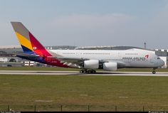 HL7634 Asiana Airlines Airbus A380-841
