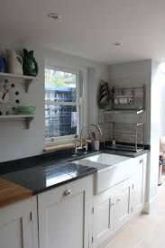 New Ideas Dark Wood Kitchen Worktop Farmhouse Sinks Granite Kitchen, Kitchen Backsplash, Kitchen Cabinets, Granite Worktops, Kitchen Units, Kitchen Sink, Grey Cupboards, Kitchen Worktops, Painted Cupboards