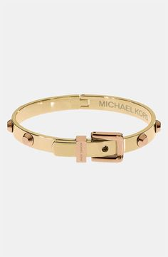 Michael Kors 'Astor' Buckle bangle...just got this...can't wait for this package to arrive! :)
