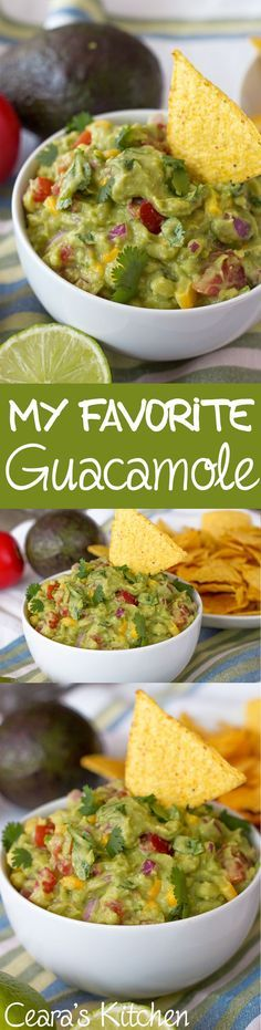 My Favorite Perfect Guacamole
