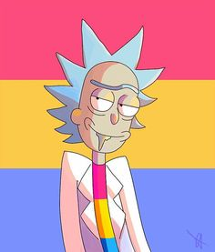 Rick confirmed Pansexual by his relationship with Unity Rick And Morty Time, Rick And Morty Poster, Computer Wallpaper, Disney Wallpaper, Ricky Y Morty, Wubba Lubba, Diy Canvas Art, Manga, Anime