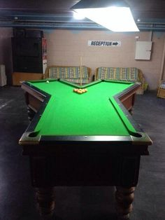 16) I don't even know how you'd play a game on this pool table...but I want to!