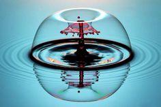 Liquid Drop Art – Les photos surréalistes de Corrie White