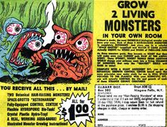 Grow 2 Living Monsters - What a DEAL!