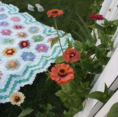 And here it is folks, my Antique store beauty. It only seemed appropriate for the summer of Hexagons that I would find this antique Grandmother's Flower Garden Quilt top. I carried it with me all through our visit at the Antique Emporium just to make sure I wasn't making a rash decision, and in the end, I couldn't resist. The only quilt my grandmother ever pieced was a Grandmother's Flower Garden quilt right before she got married in 1934. My mom still has that quilt and I've always loved…