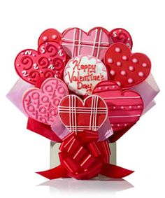Valentine Cookie Bouquet!