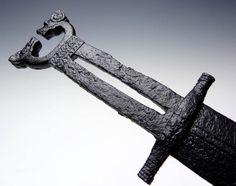 Scythian Saka Tagar Iron Sword http://sword-site.com/thread/390/scythian-saka-tagar-iron-sword